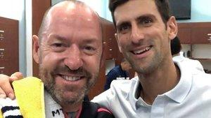 O¿Shannessy, junto a Djokovic