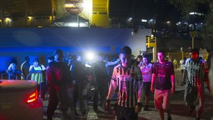 El partido entre Tigres y Monterrey estuvo marcado por la violencia