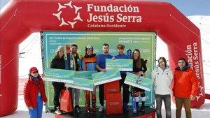 Podium final del 13º Trofeo Fundación Jesús Serra