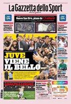 Portada de La Gazzetta dello Sport del jueves 11 de julio de 2019