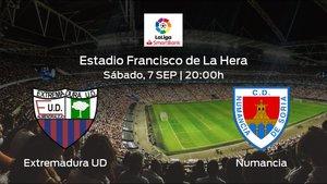 Previa del encuentro de la jornada 4: Extremadura UD contra Numancia