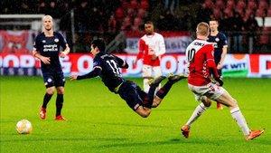 El PSV pudo sacar un punto en el descuento