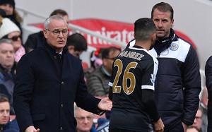 Ranieri abre la puerta a la marcha de Mahrez