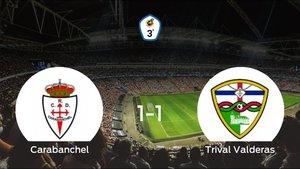 El Real Carabanchel y el Trival Valderas reparten los puntos tras empatar a uno