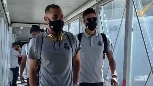 El Real Madrid, rumbo a Barcelona para medirse al Espanyol
