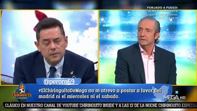 Roncero explota: El Real Madrid jugó contra el Cádiz como si fuera una pachanga