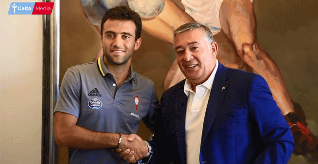 Rossi, nuevo jugador del Celta