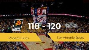 San Antonio Spurs se lleva la victoria frente a Phoenix Suns por 118-120