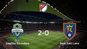 El Seattle Sounders pasa por encima del Real Salt Lake y pasa a las finales de Conferencia (2-0)