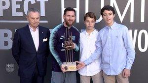 Séptimo Premio Aldo Rovira para Leo Messi