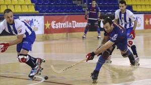 Sergi Panadero, autor del quinto gol