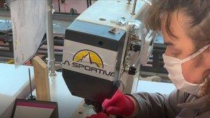 La Sportiva fabrica una primera tanda de 55.000 mascarillas