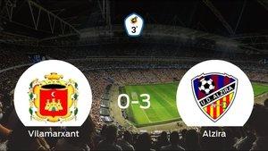 Tres puntos para el casillero del Alzira tras pasar por encima al Vilamarxant (0-3)
