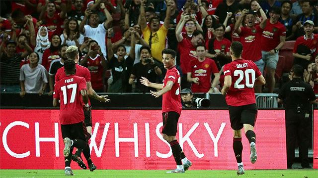 El United se impone al Inter en su estreno en la international Champions League