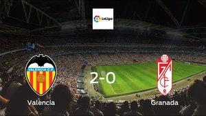 Valencia earned hard-fought win over Granada 2-0 at Mestalla