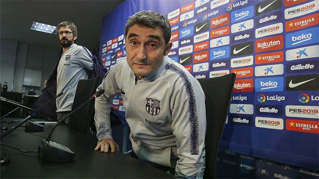 Valverde negó tener influencia en los rumores sobre el caso Neymar