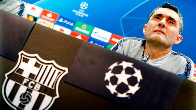 Valverde: No pensamos en el partido ante la Roma del año pasado