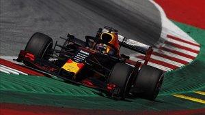 Verstappen durante el pasado GP de Austria