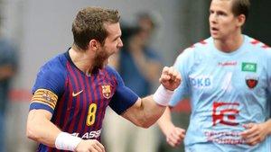 Víctor Tomàs marcó cinco goles en la final de la Super Globe