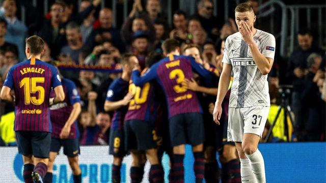 El 1x1 del Barça ante el Inter