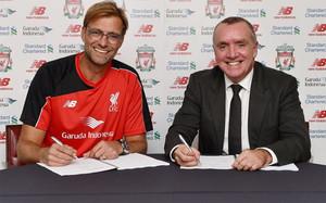 El alemán Jürgen Klopp es el nuevo entrenador del Liverpool
