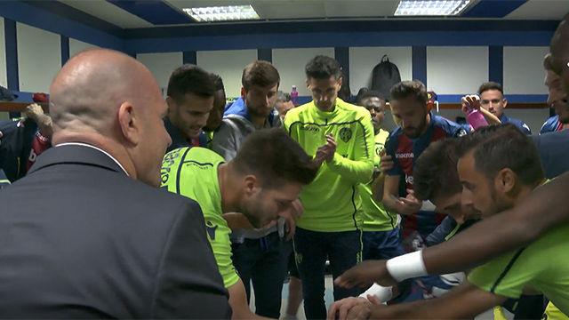Así se conjuró el Levante para el asalto al Bernabéu