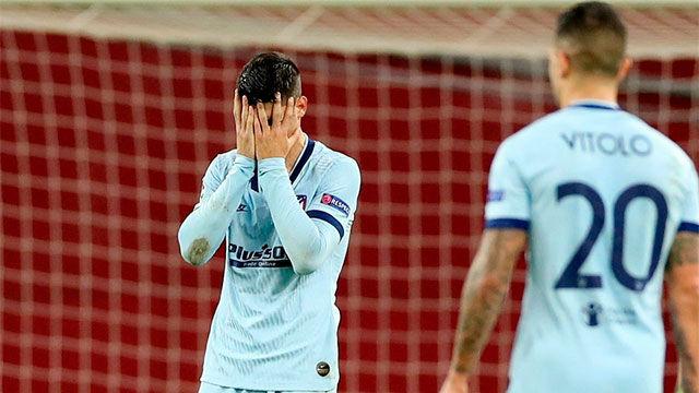 El Atlético se atasca en Leverkusen