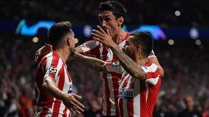 El Atlético empató 2-2 ante la Juve en un partido no apto para cardíacos