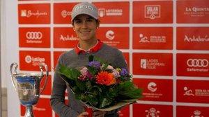 Azahara Muñoz buscará en casa su tercer Open de España consecutivo
