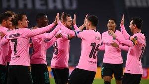 El Barça conquistó Turín (0-2)