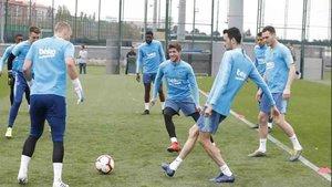 El Barça ha empezado a preparar el partido ante el Alavés
