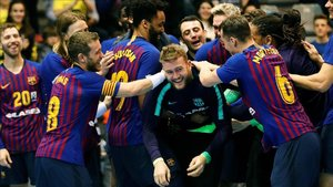 El Barça Lassa de balonmano está realizando una gran temporada