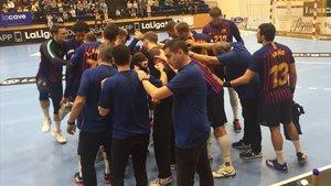 El Barça Lassa logró una victoria de mérito ante un gran rival