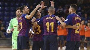 El Barça Lassa quiere volver a sonreír ya en el Palau