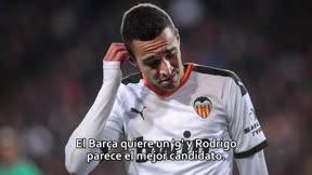 El Barça negocia la cesión del valencianista Rodrigo