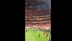 El Benfica hizo sonar el pasodoble España cañí