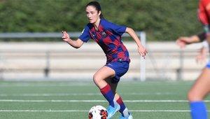 Bruna Vilamala marcó su primer gol con el primer equipo culé