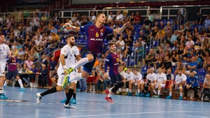 Casper Mortensen completó un notable partido frente al Cuenca