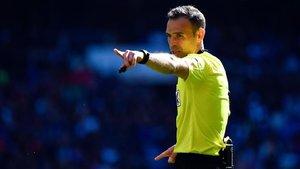 Cuadra Fernández pitará al Barça en Granada