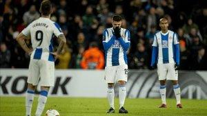 Decepción en las caras del Espanyol, pero ahora toca cambiar en Liga
