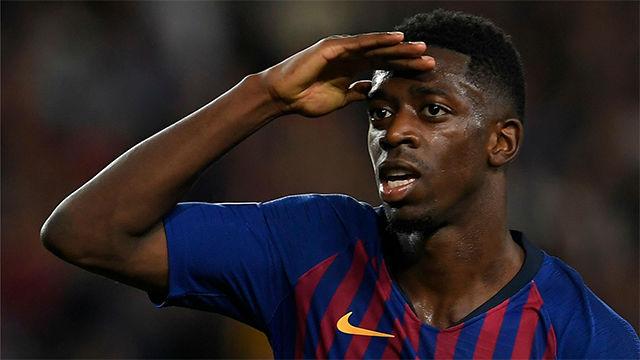 Dembelé tampoco falla en Champions