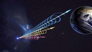 Se detecta una potente onda de radio del espacio exterior