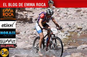Emma Roca vive con pasión la Titan Desert 2015