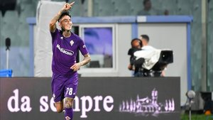 Erick Pulgar celebrando un gol en una imagen de archivo