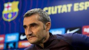 Ernesto Valverde no está preocupado por la adaptación de Antoine Griezmann y su conexión con Leo Messi