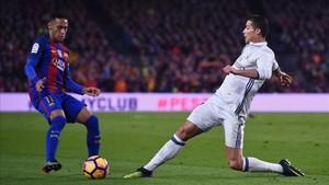 Florentino cambiaría a Cristiano Ronaldo por Neymar