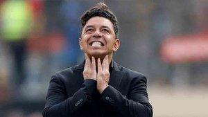 Gallardo, entrenador de River Plate
