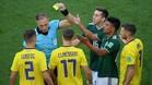 Gallardo pasa a la historia de los Mundiales en apenas 13 segundos