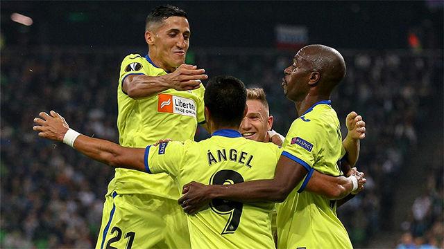 El Getafe sigue soñando en Europa tras vencer al Krasnodar