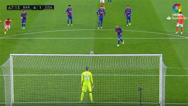 Hoy se cumple un año del único gol de Mascherano con la camiseta azulgrana